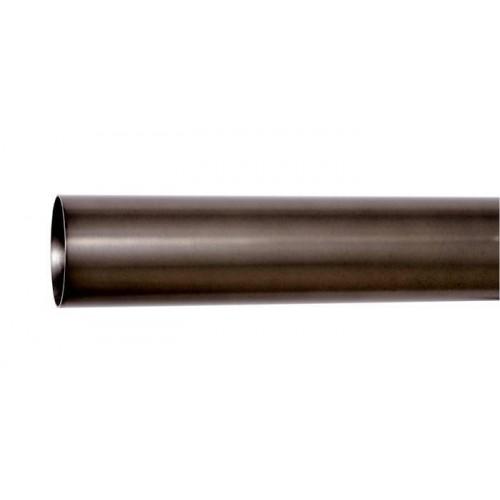 Tube pour tringle Médicis diamètre 50mm de Houlès 180 cm coloris Argent vieilli 64003-67