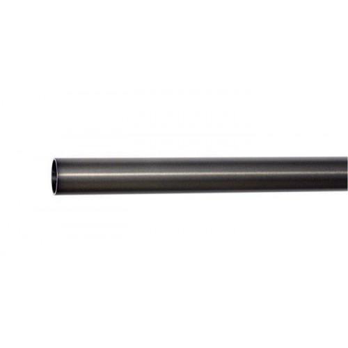Tube pour tringle Médicis diamètre 19mm de Houlès 180 cm coloris Argent vieilli 64005-67
