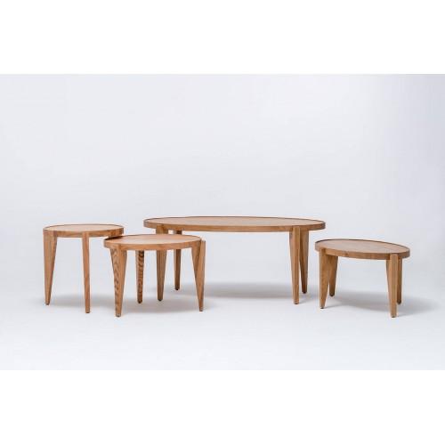 Table basse BONTRI ELLIPSE - Swallow's Tail Furniture