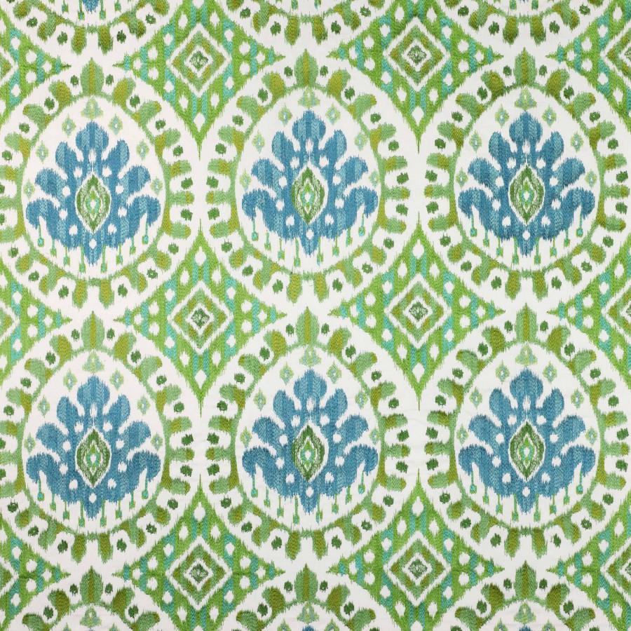 Tissu Bella de Manuel Canovas coloris Aqua 04791-04