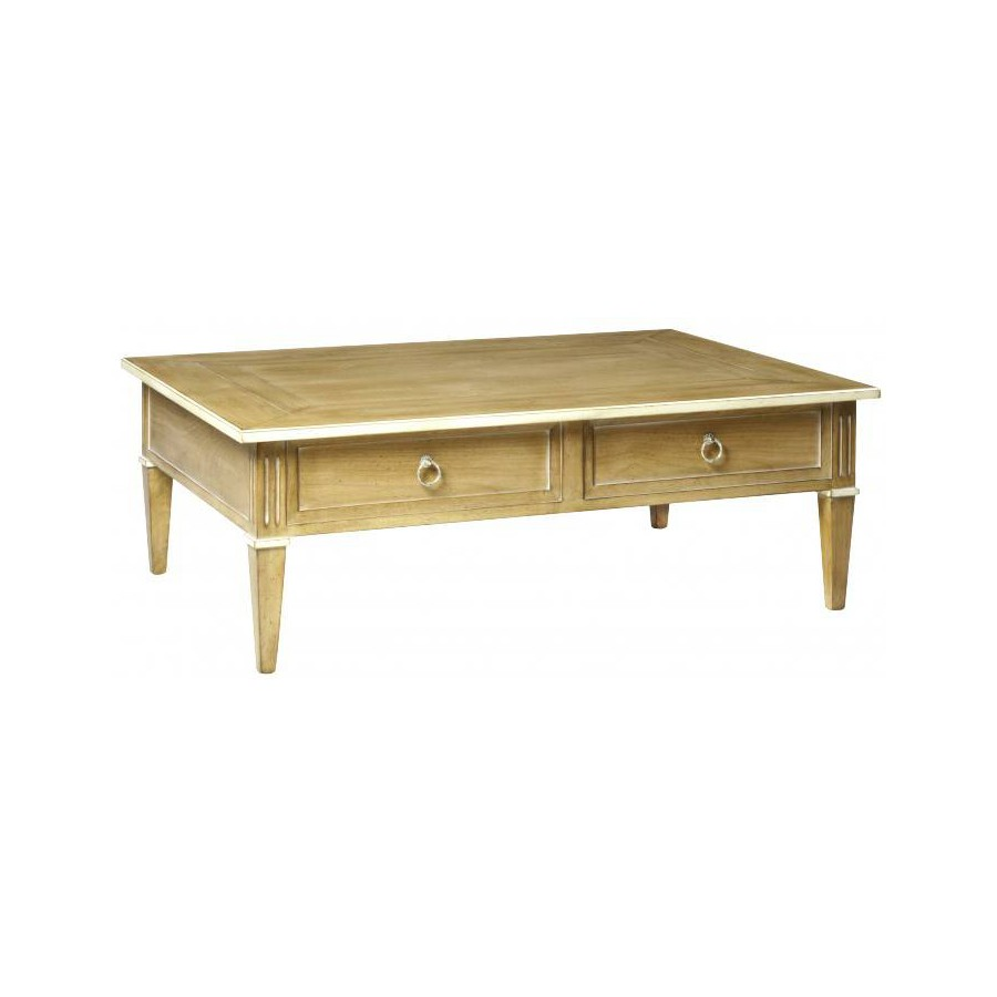 Coffee table 2 drawers Récamier - Labarère