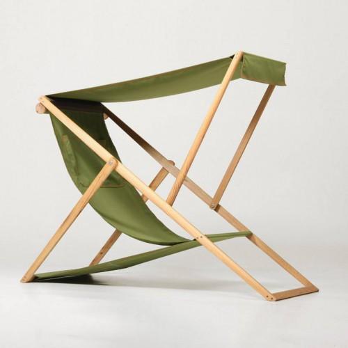 Chaise longue avec pare-soleil XZ - Element