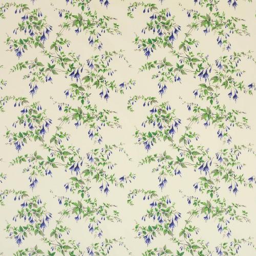 Tissu Fuchsia de Colefax and Fowler coloris Blue chintz 01070-02
