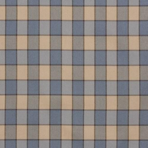 Tissu Bruyères de Le Manach coloris Bleu L4556-006