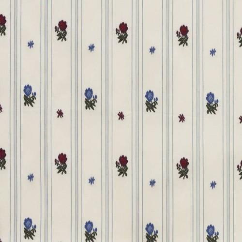 Tissu Cavaillon de Le Manach coloris Bleu L4555-001