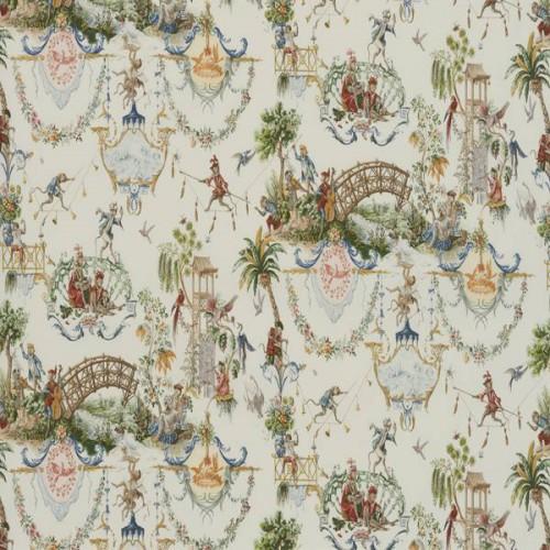 Tissu La Singerie de Le Manach coloris Original L4552-001