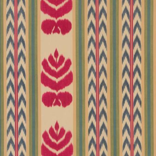 Tissu Concini de Le Manach coloris Fleur rouge L4201-001