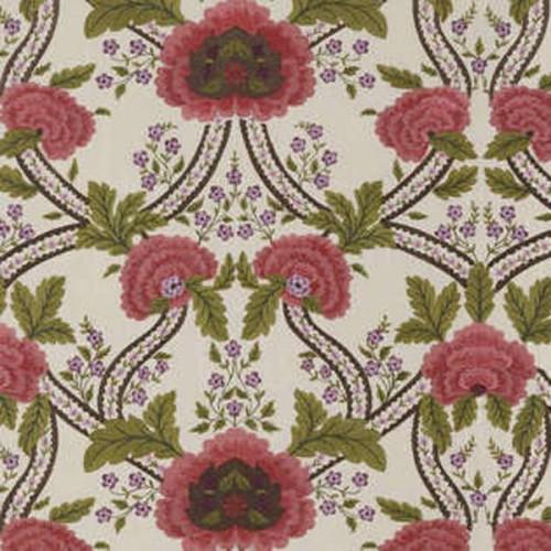 Tissu Beauvais-Broderie de Braquenié coloris Rose lilas B7572001
