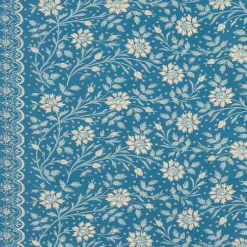 Tissu Batik de Le Manach coloris Blue L3578-001
