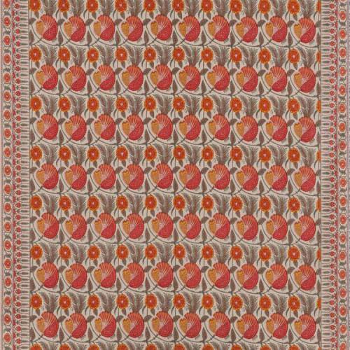 Tissu Indhira de Le Manach coloris Ambre L4164-006