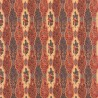 Batik Raisin fabric - Le Manach