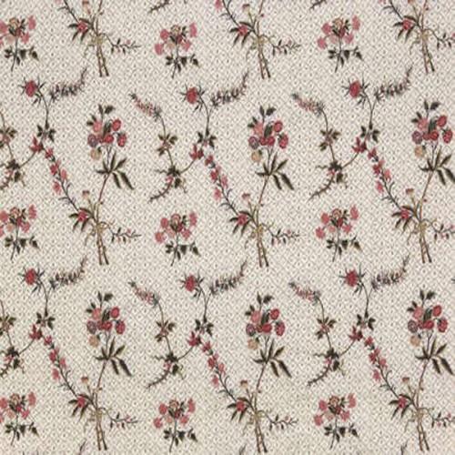 Champeigne-Broderie fabric - Braquenié