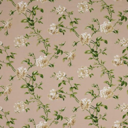 Tissu Amelie de Colefax and Fowler coloris Cream / Green 3423-01