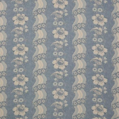 Tissu Caldbeck de Colefax and Fowler coloris Blue F3014-01