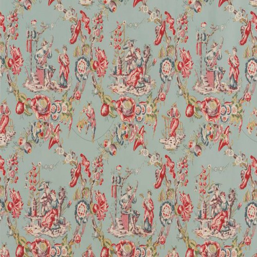 Musiciens Chinois fabric - Le Manach
