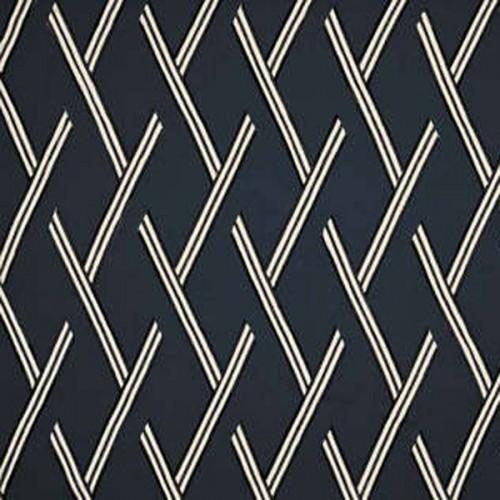Tissu d'ameublement Elvis de Boussac coloris Encre O7936003