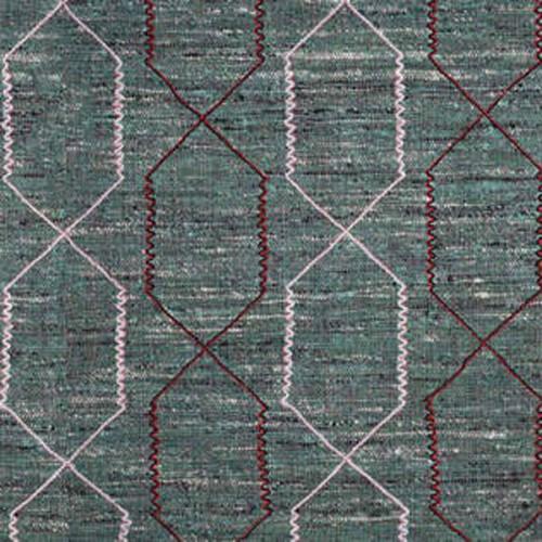 Tissu d'ameublement Zebulon de Boussac coloris Eucalyptus O7935002