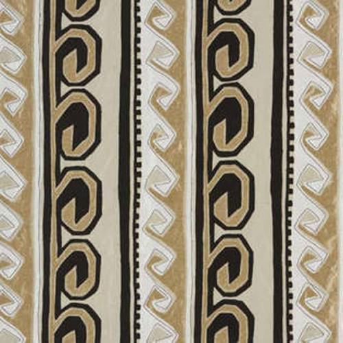 Tissu d'ameublement Emilio de Fadini Borghi coloris Gold I6583001