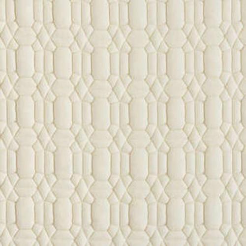 Tissu d'ameublement Cocoon de Boussac coloris Ecume O7911001