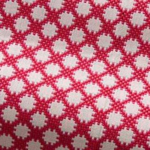 Tissu d'ameublement Idaho de Boussac coloris Azalée O7790007