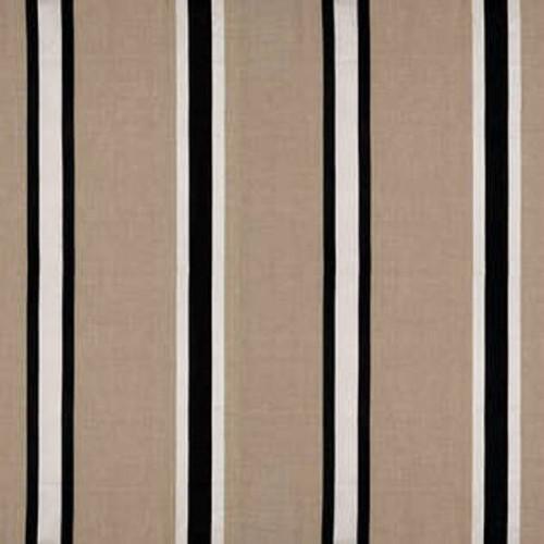 Tissu d'ameublement César de Boussac coloris Noir et blanc O7776002