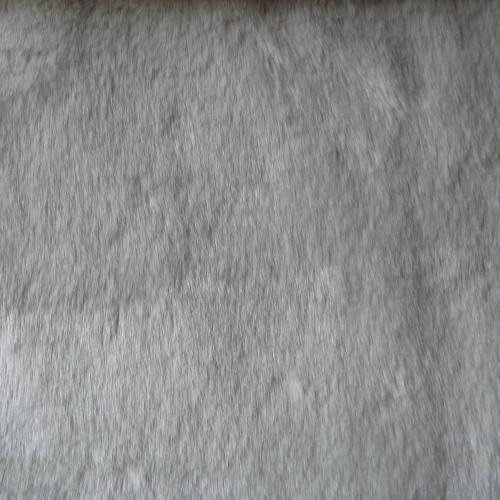 Fake fur fabric of White Lion