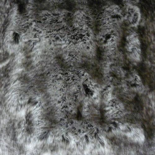 Tissu fausse fourrure Loup