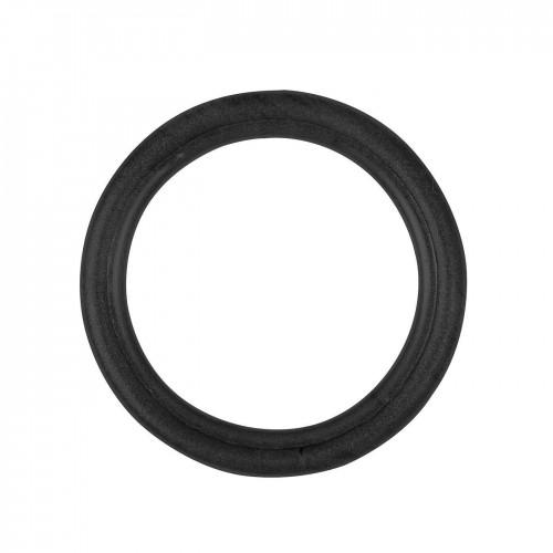 Anneaux pour tringle à rideaux collection Tantulo de Houlès coloris Noir mat 16 mm 66389-17