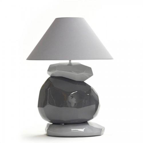 Lampe Binic Grand Modèle coloris souris, mica et souris - François Châtain