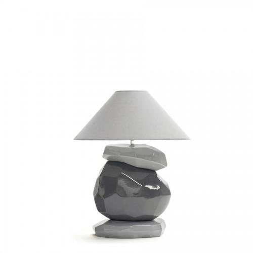 Lampe Binic Petit Modèle coloris souris, mica et souris - François Châtain