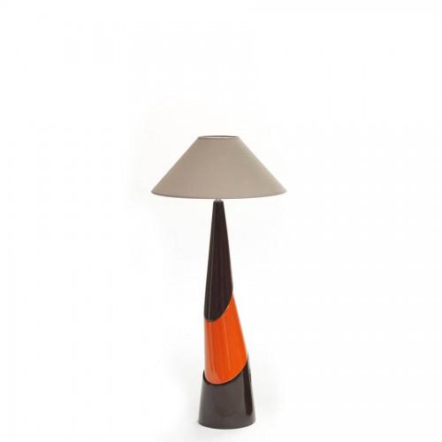 Lampe Fanny Petit Modèle coloris chocolat, orange et chocolat - François Châtain