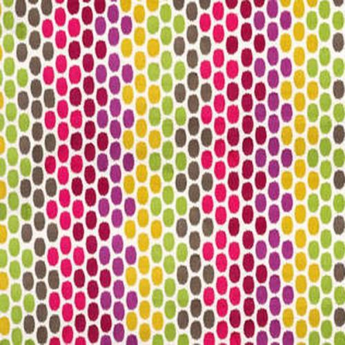 Tissu d'ameublement Eve de Boussac coloris Confetti O7770001