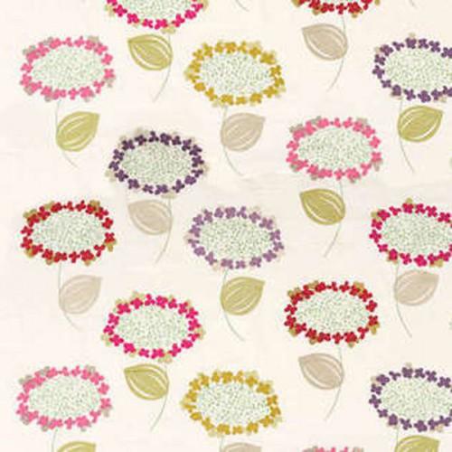 Tissu d'ameublement Colette de Boussac coloris Printemps O7768001