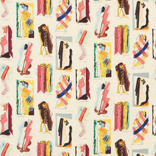 Arlequins fabric - Pierre Frey color Vintage F31390-01