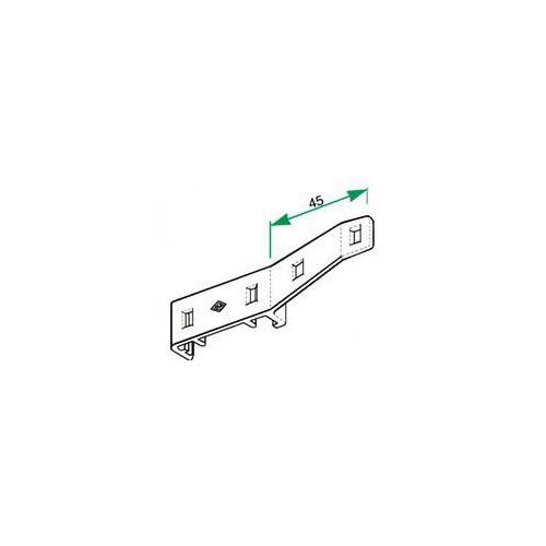 Tringle Rails chemin de fer 24 x 16 pour 1 rideau