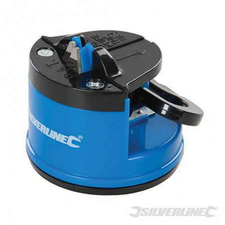 Knife sharpener with suction cup - Silverline