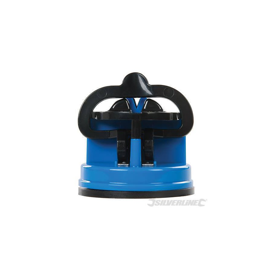Knife sharpener with suction cup - Silverline 270466