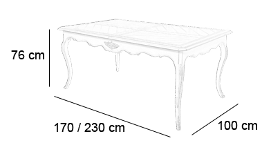 Schema Table Cheverny