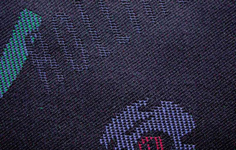 Genuine ROLLING STONES fabric for Volkswagen Golf 3