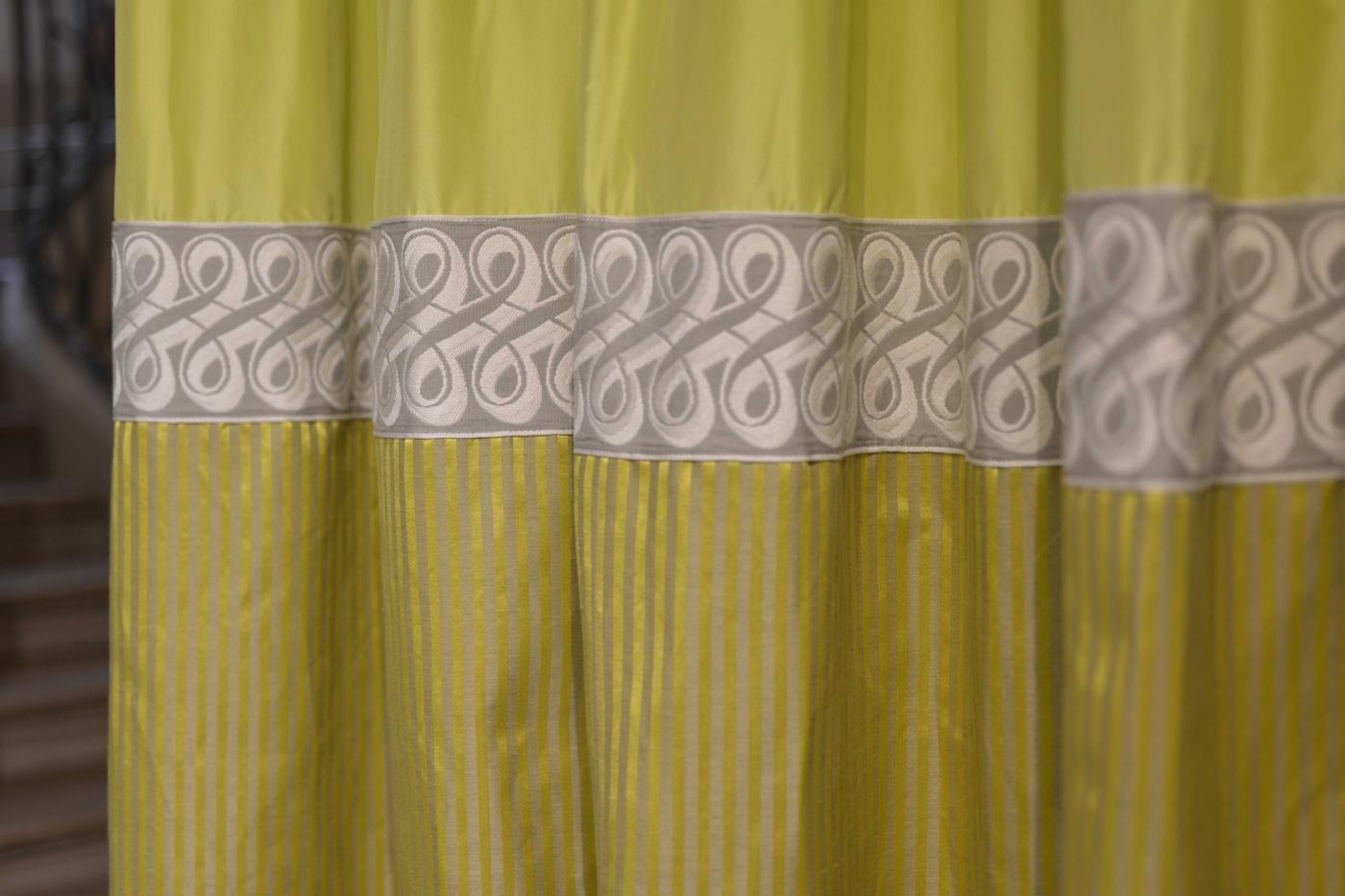 tissu d 39 ameublement giulia de houl s r f rence 72788. Black Bedroom Furniture Sets. Home Design Ideas