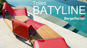 Toile Batyline pour bains de soleil et fauteuils de jardin