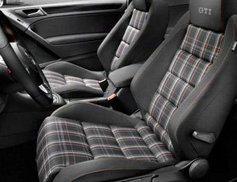 Tissu écossais Golf 6 GTI