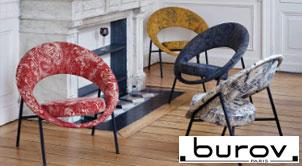 Canapés et fauteuils Burov