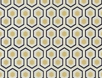 Papier peint Hicks Hexagon - Cole and Son