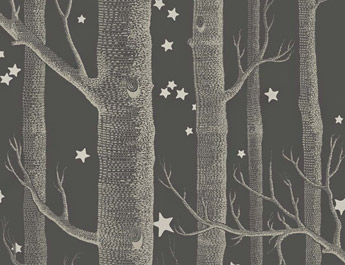 Papier peint Woods and Stars - Cole and Son